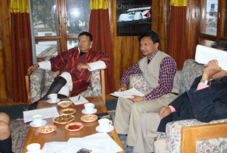 Commercial Negotiation Meeting with Dasho Yeshi Wangdi, MD