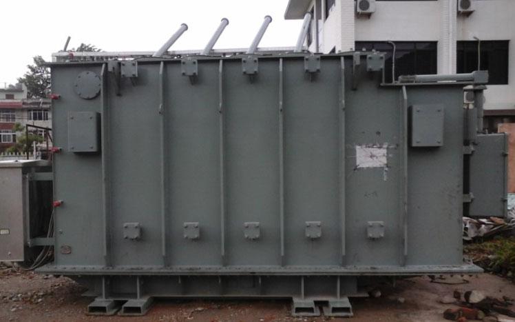 Power Transformer stored at Storage yard