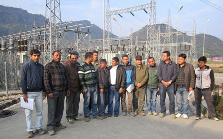 33 kV Interconnection Switching Station Rangkhola
