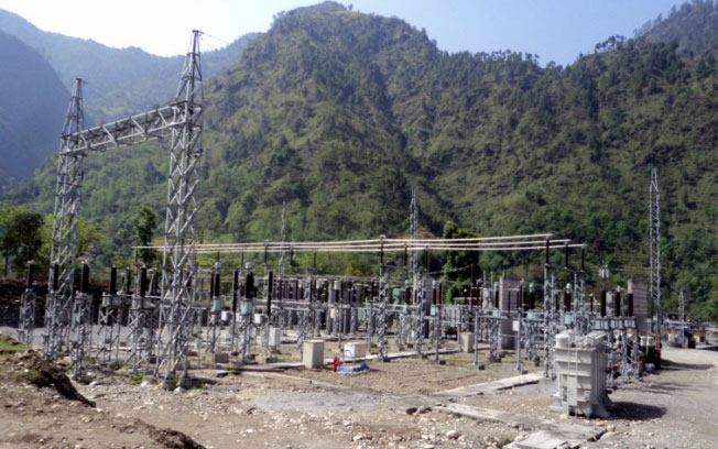 132 kV Switchyard at Balanch, Chameliya