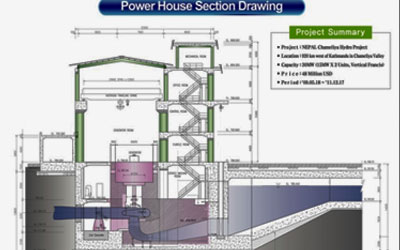 Power House Section Drawing