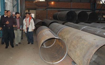 Visit by Former Energy Minsiter Hon'ble Gokarna Bista
