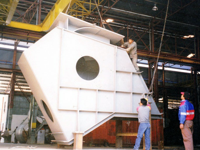 Manufacturing of 1 of 5 units of 12 MW Pelton Turbine Housing