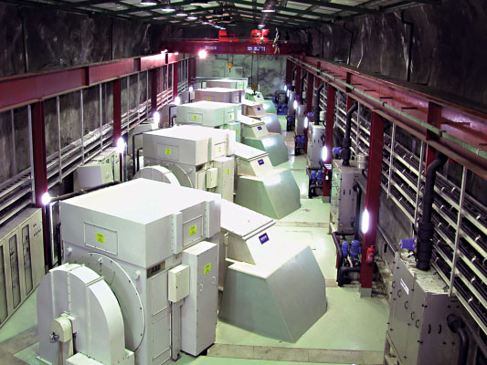 Power House Machine Hall, 5 x 12 MW Units