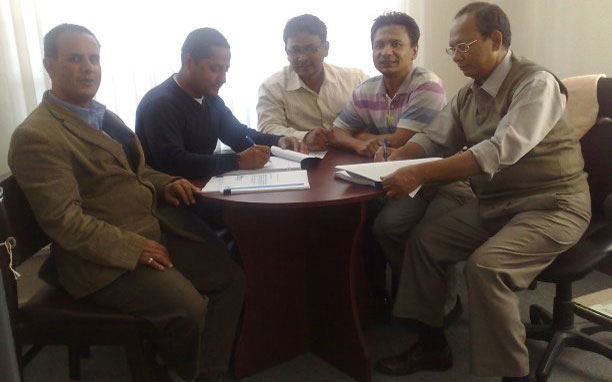 Contract signing with BPC AKHP(U)