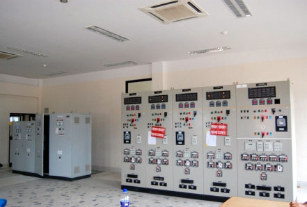 Battery Charging Units and 132 kV Control & Protection Panels