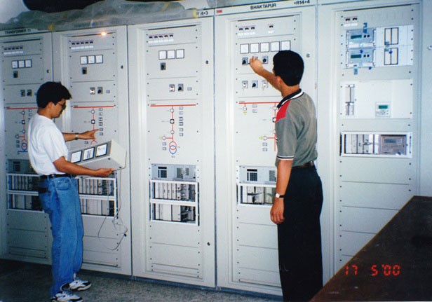 11 kV Generation Control & Protection and  132 kV Transmission Panels