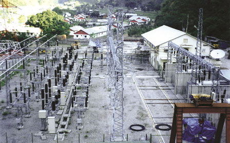 2 x 28 and 1 x 14 MVA, 132 KV Switchyard at Kirnetar