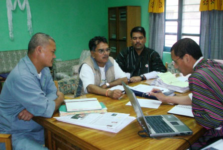 Technical Negotiation Meeting with Mr Lam Dorjee, Plant Manager