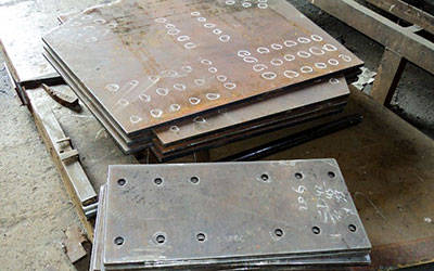 ASTM plates marking and Drilling