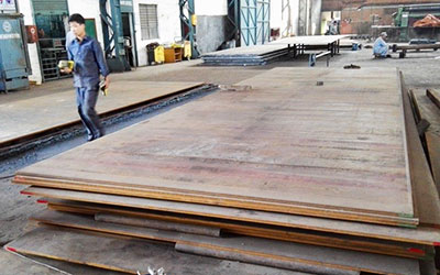 High Tensile Steel plates for manufacturing Bridges