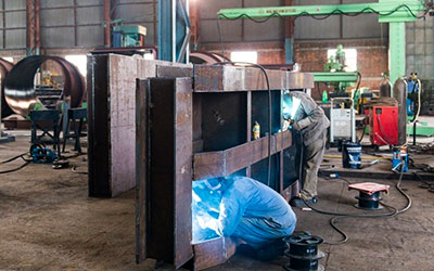 Manufacturing of Stop Log Gates at Works, Butwal