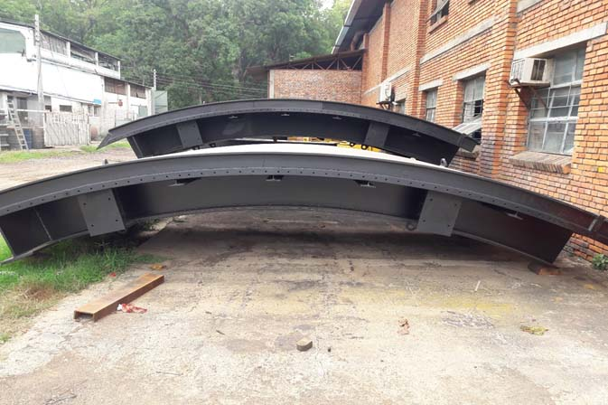 Radial Gates Fabricated and Ready for Delivery